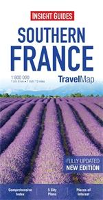 FRANCJA POŁUDNIOWA mapa 1:800 000 INSIGHT TRAVEL MAP