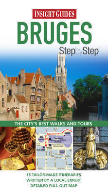 BRUGES BRUGIA przewodnik INSIGHT STEP BY STEP