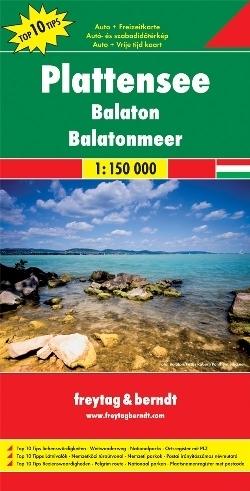 BALATON I OKOLICE mapa samochodowa 1:150 000 Freytag & Berndt 2011