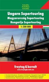 WĘGRY SUPERTOURING ATLAS samochodowy 1:200 000 FREYTAG & BERNDT