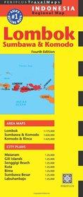 LOMBOK SUMBAWA Indonezja mapa PERIPLUS