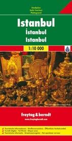 ISTAMBUŁ plan miasta 1:10 000 FREYTAG&BERNDT 2012