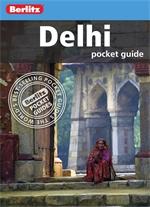 DELHI New Delhi (Indie) przewodnik Berlitz POCKET GUIDE