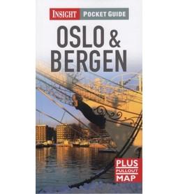 OSLO BERGEN przewodnik INSIGHT POCKET GUIDE plus mapa