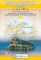 WYSPA ISCHIA (WŁOCHY) mapa turystyczna 1:14 000 LAC