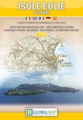 WYSPY LIPARYJSKIE mapa turystyczna 1:25 000 LAC
