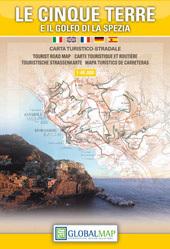 LE CINQUE TERRE zatoka LA SPEZIA mapa turystyczna 1:40 000 LAC WŁOCHY