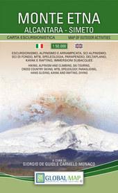 ETNA WULKAN Monte Etna mapa turystyczna 1:50 000 LAC