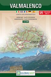 VALMALENCO mapa turystyczna 1:25 000 LAC