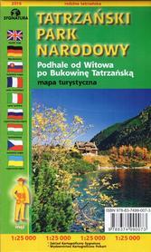 TATRZAŃSKI PARK NARODOWY mapa turystyczna 1:25 000 SYGNATURA 2016