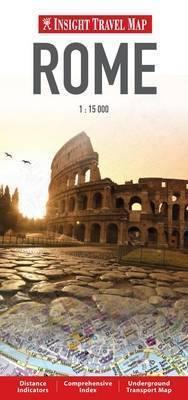 RZYM ROME plan miasta 1:15 000 INSIGHT TRAVEL
