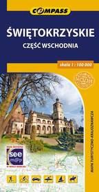 ŚWIĘTOKRZYSKIE cz WSCHODNIA mapa turystyczna 1:100 000 COMPASS