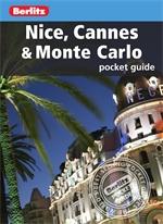NICE CANNES MONTE CARLO przewodnik BERLITZ POCKET GUIDE