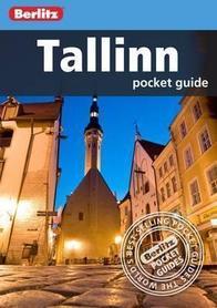 TALLINN TALIN przewodnik BERLITZ POCKET GUIDE