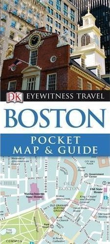 BOSTON Pocket Map and Guide - przewodnik i mapa DK