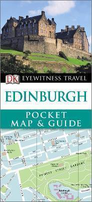 EDINBURGH EDYNBURG Pocket Map and Guide - przewodnik i mapa DK