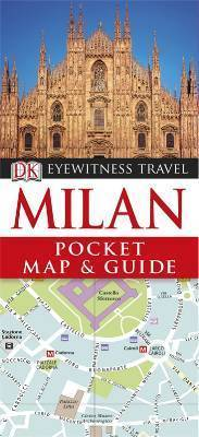 MILAN MEDIOLAN Pocket Map and Guide - przewodnik i mapa DK