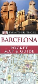 BARCELONA Pocket Map and Guide - przewodnik i mapa DK 2014