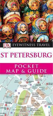 ST PETERSBURG Pocket Map and Guide - przewodnik i mapa DK