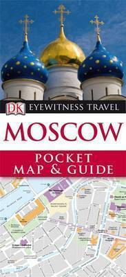 MOSCOW MOSKWA Pocket Map and Guide - przewodnik i mapa DK