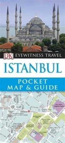 ISANBUL ISTAMBUŁ Pocket Map and Guide - przewodnik i mapa DK