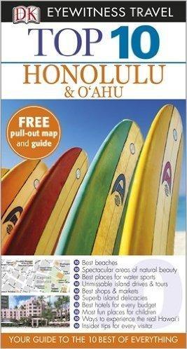 HONOLULU & O'AHU przewodnik i mapa TOP 10 DK