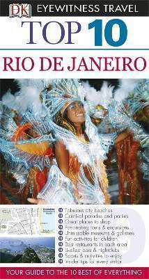 RIO DE JANEIRO przewodnik i mapa TOP 10 DK ang 2011