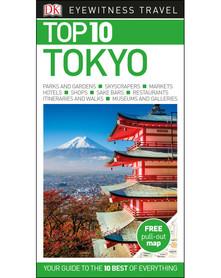 TOKYO TOKIO przewodnik i mapa TOP 10 DK 2017