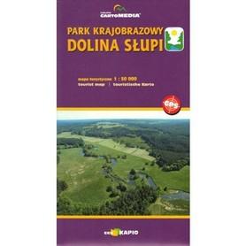 Park Krajobrazowy DOLINA SŁUPI mapa 1:50 000 CartoMedia