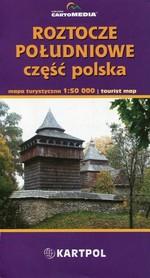 ROZTOCZE POŁUDNIOWE część polska mapa 1:50 000 CartoMedia / KARTPOL