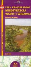 Park Krajobrazowy Międzyrzecza Warty i Widawki mapa 1:50 000 CartoMedia