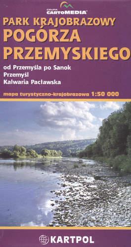 Park Krajobrazowy Pogórza Przemyskiego mapa 1:50 000 CartoMedia