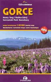 GORCE Nowy Targ Rabka-Zdrój mapa turystyczna 1:50 000 SYGNATURA / CARTOMEDIA
