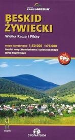 BESKID ŻYWIECKI Wielka Racza i Pilsko mapa turystyczna 1:50 000 Sygnatura / CARTOMEDIA