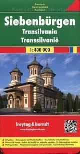 TRANSYLWANIA (RUMUNIA) mapa samochodowa 1:400 000 FREYTAG & BERNDT