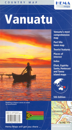 VANUATU mapa HEMA