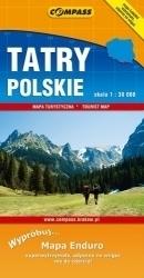 Tatry Polskie - papier ENDURO mapa turystyczna 1:30 000