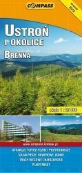 USTROŃ I OKOLICE BRENNA mapa turystyczna 1:25 000 COMPASS