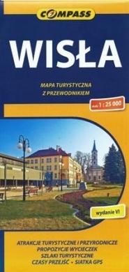 WISŁA mapa turystyczna / plan 1:25 000 COMPASS 2015