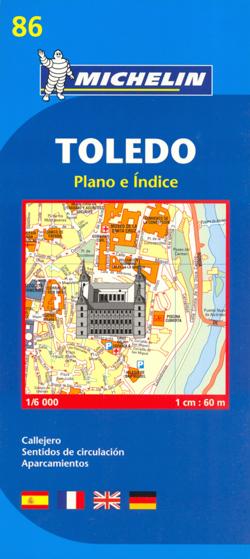 TOLEDO plan miasta 1:6 000 MICHELIN