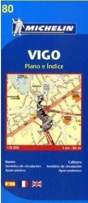VIGO plan miasta 1:9 000 MICHELIN