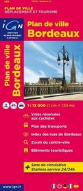 BORDEAUX plan miasta 1:13 000 IGN