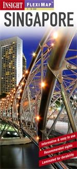 SINGAPOUR SINGAPUR plan miasta laminowany 1:12 500 INSIGHT FLEXI MAP 2013