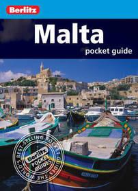 MALTA pocket guide przewodnik BERLITZ