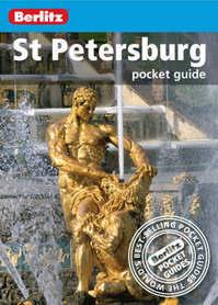 SANKT PETERSBURG pocket guide przewodnik BERLITZ