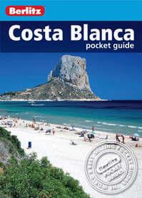 COSTA BLANCA pocket guide przewodnik BERLITZ