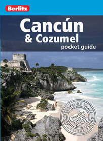 CANCUN COZUMEL pocket guide przewodnik BERLITZ