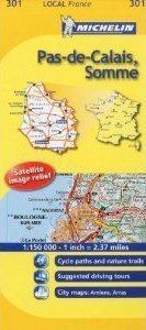 PAS-DE-CALAIS-SOMME  1:150 000 MAPA FRANCJA