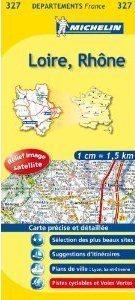 LOIRE - RODAN/LOIRE-RHONE MAPA 1: 150 000 FRANCJA MICHELIN
