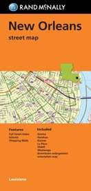 NEW ORLEANS (Louisiana) plan miasta 1:30 000 RAND McNALLY